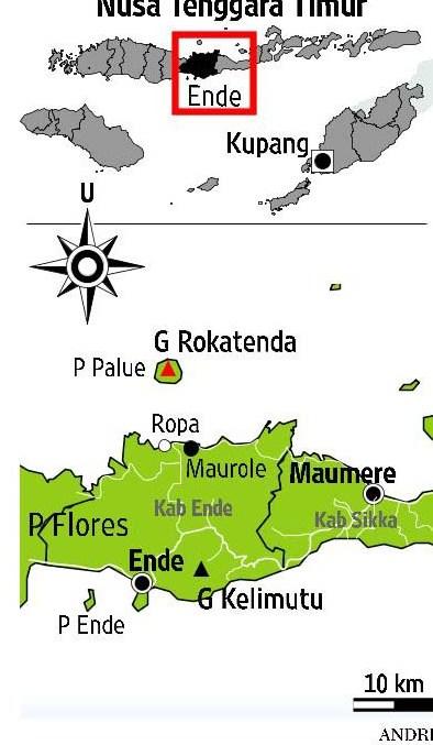 Pulau Palue Gunung Rokatenda Flores