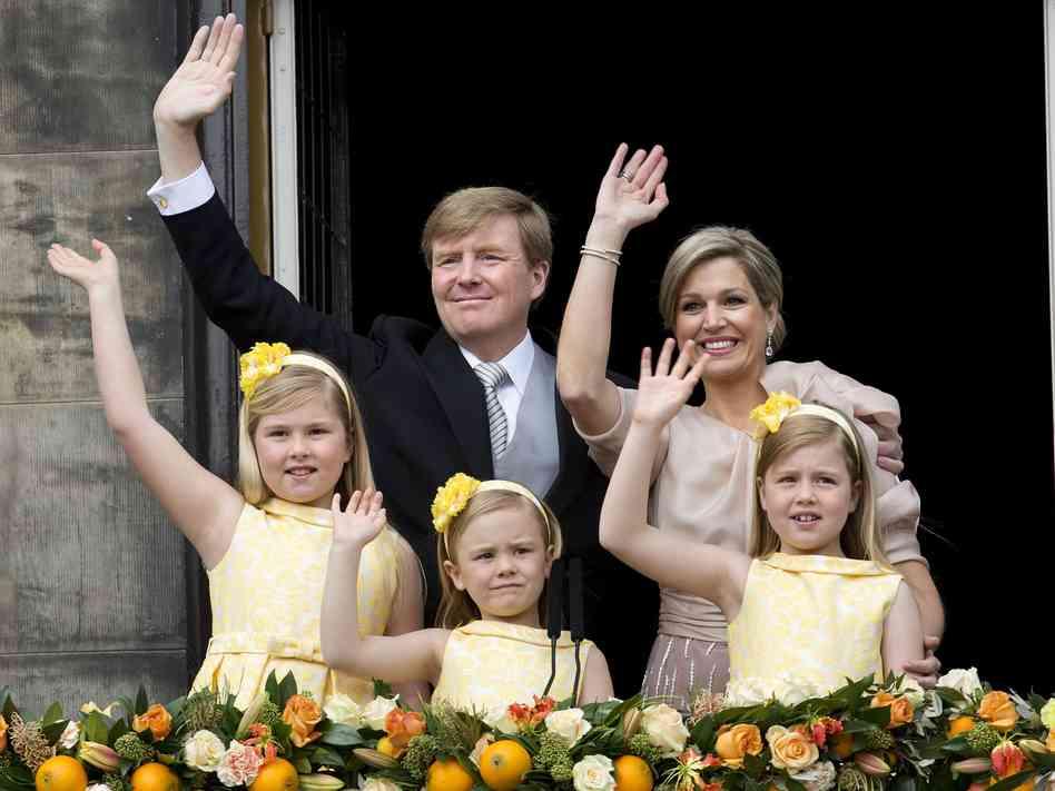 Raja Willem-Alexander keluarga