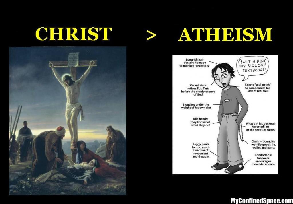 christ-vs-atheism