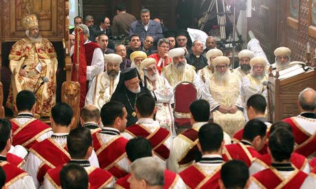 gereja koptik misa
