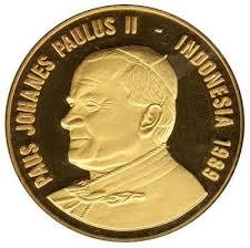 Paus Yohanes Paulus II ke Indonesia pin