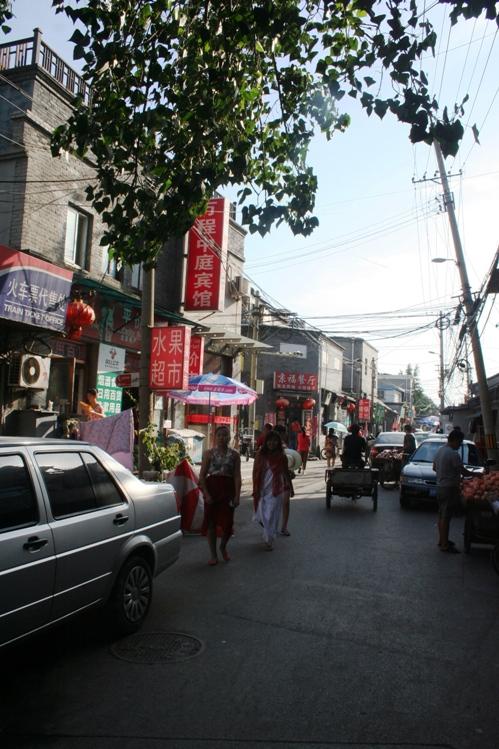 Hutong street jalanan bermobil