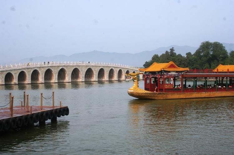 Jembatan lengkung di Summer Palace email ok