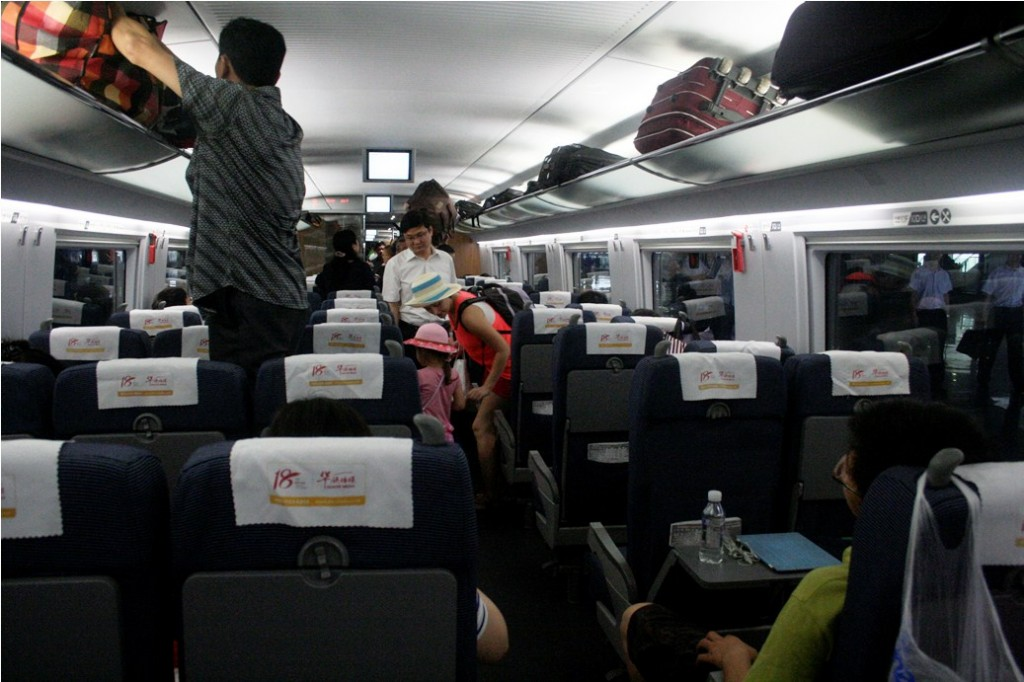 _MG_7672 Gerbong kelas dua High Speed Train ke Beijing