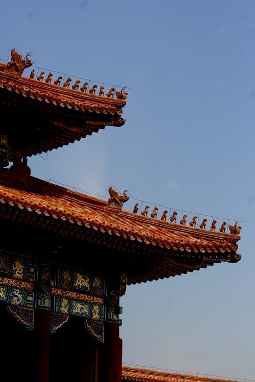 Atap Forbidden City berhiaskan naga email OK