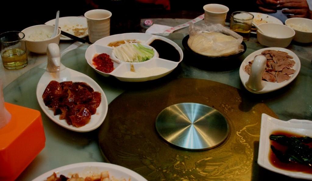Peking Duck paket makan di Bagou