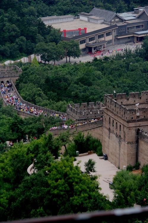 Tembok Besar China panorama bawah vertikal email ok
