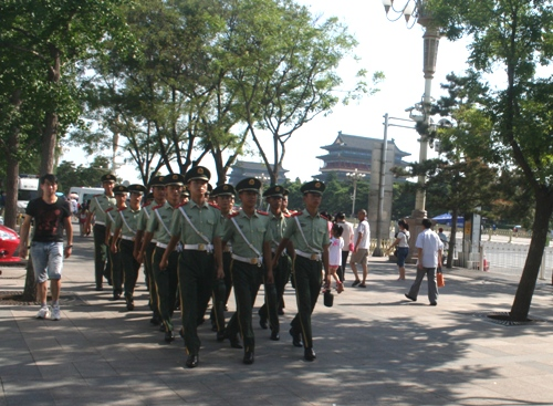 Tentara China baris 1 email OK