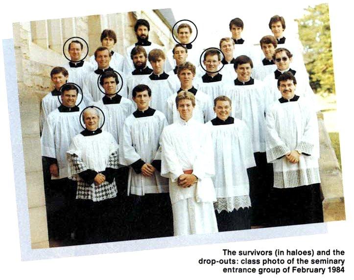 Tony Abbot sebagai seminaris