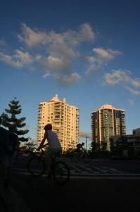 Brisbane gedung bersepeda