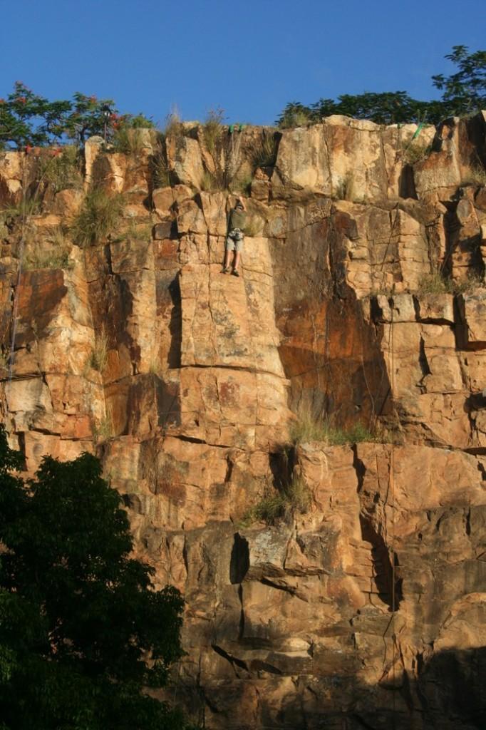 Brisbane south bank panjat tebing