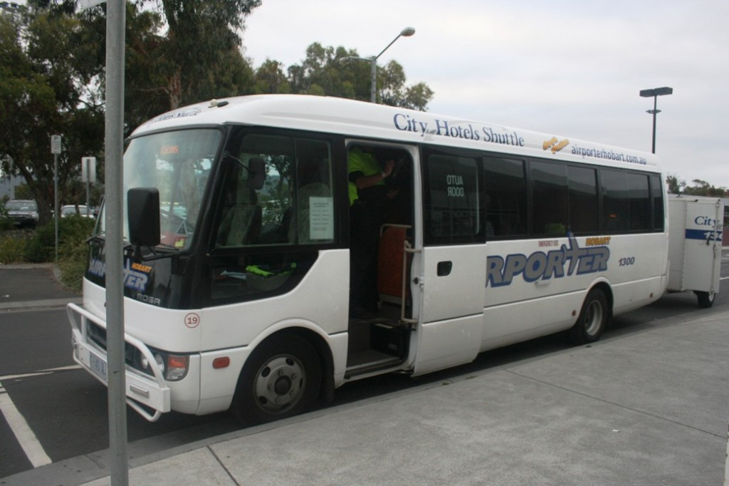 Hobart Shuttle Bus 1