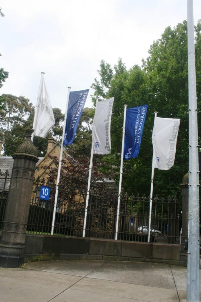 University of Melbourne bendera