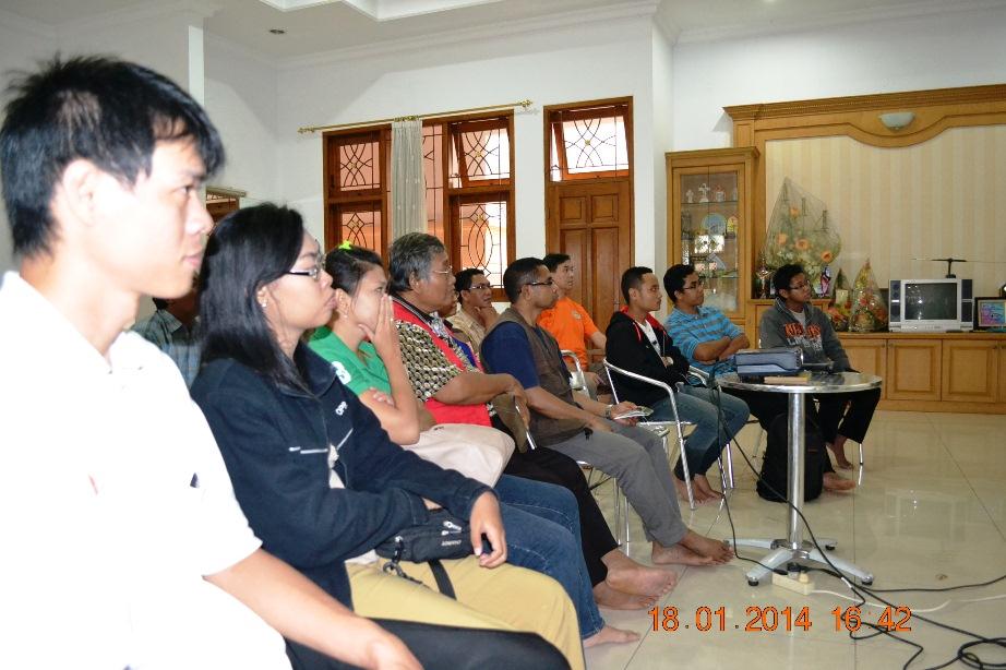 Balai Budaya Rejosari pelatihan suasana ok