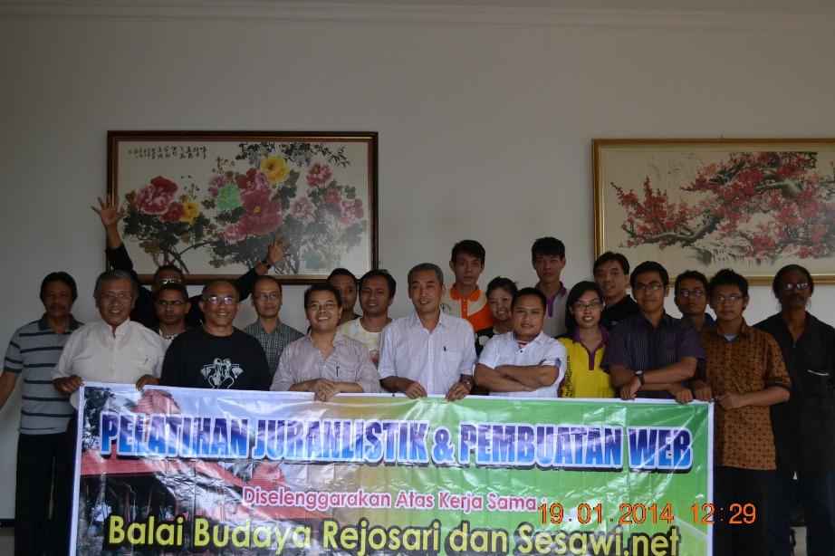 Balai Budaya Rejosari writing workshop program 2
