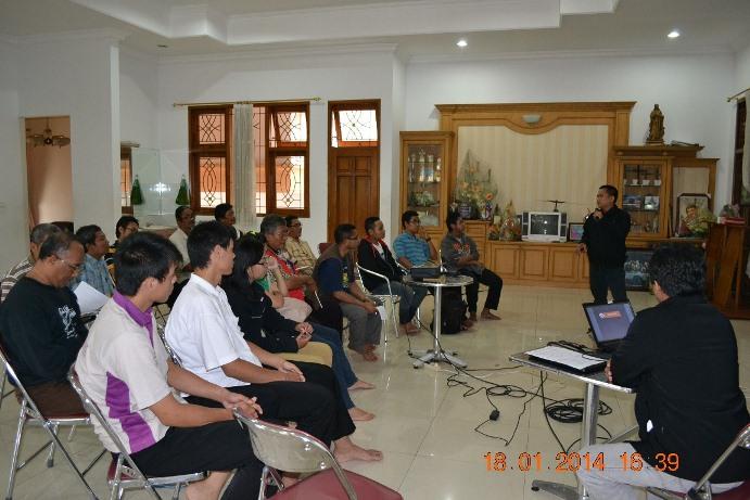Balai Budaya Rejosari writing workshop program with Sesawi.Net ok