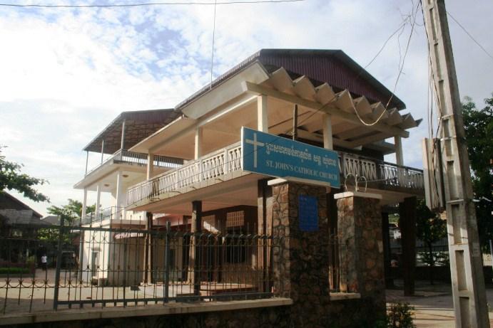 Gereja Kamboja di Siem Reap
