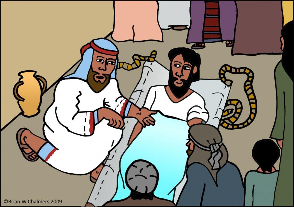 Yesus dan orang sakit by ebibleteacher
