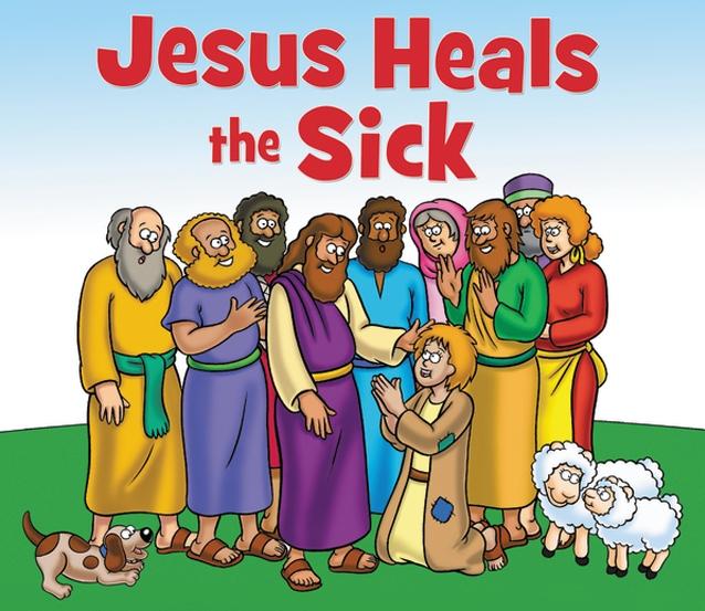 Yesus sembuhkan orang sakit ilustrasi