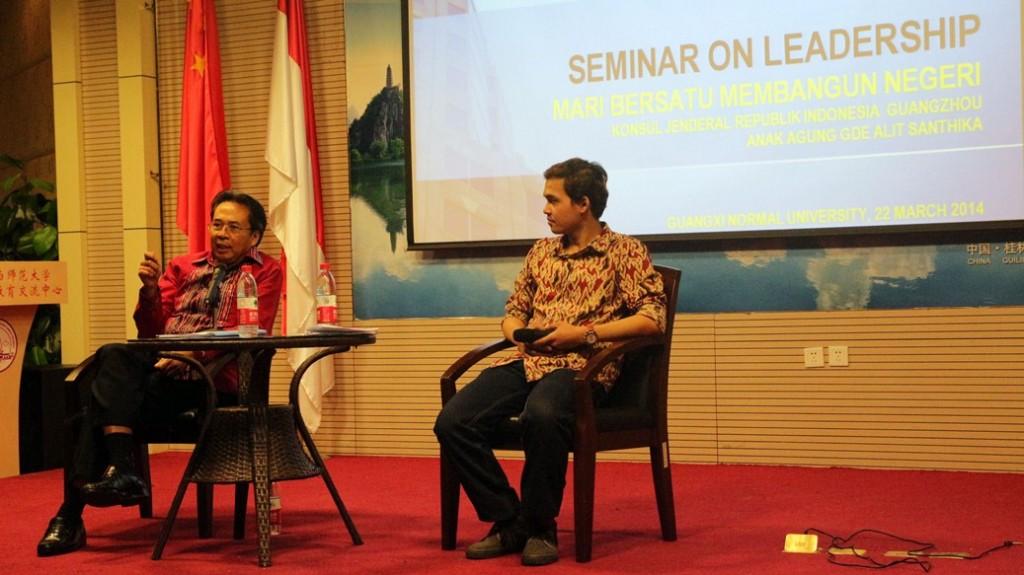 Guilin seminar bersama Pak Konsul