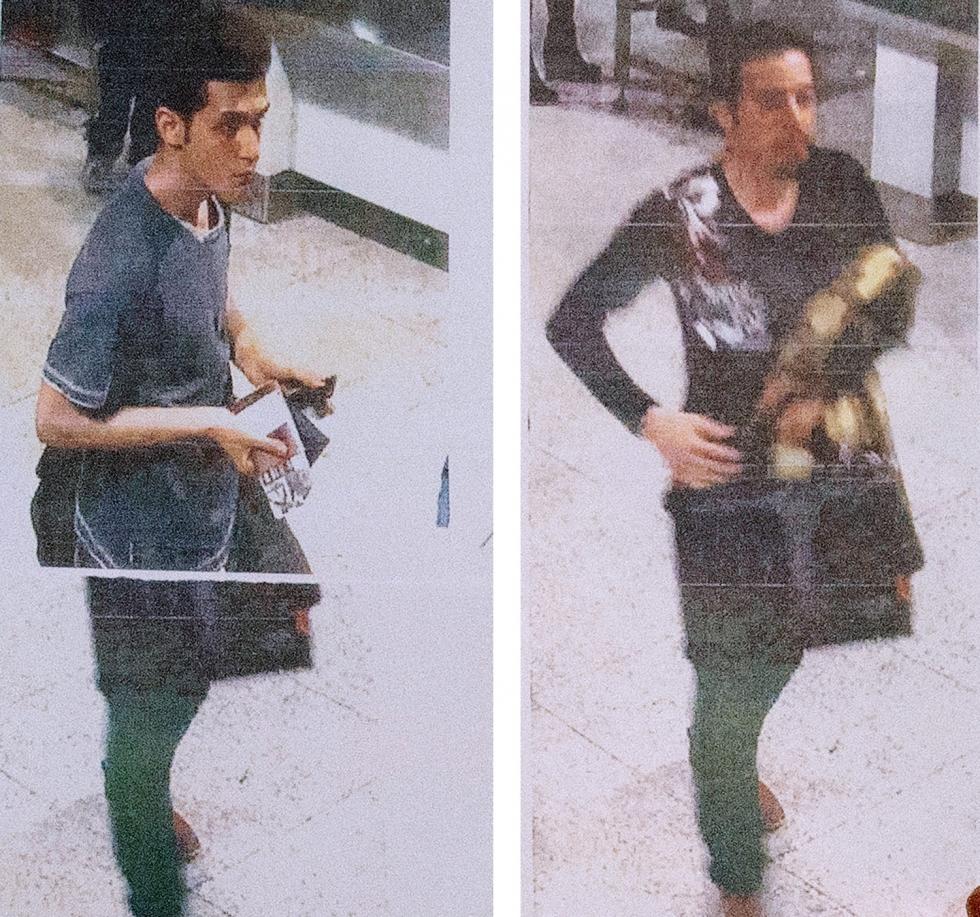 Malaysian Ariline dua pria Iran misterius