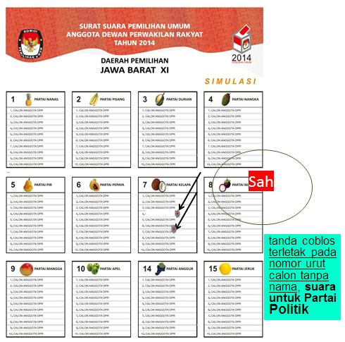 Pemilu suara sah 13