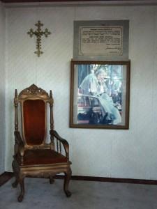 Kursi Paus di Atma Jaya