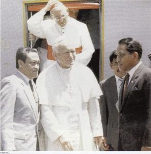 Paus dan LB Moerdani