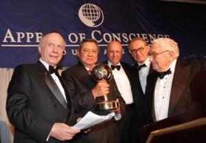 SBY dan penghargaan di New York