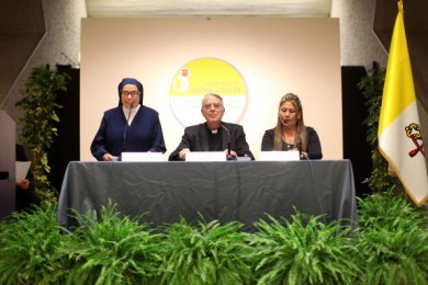 Press Conference On The Canonization Of Pope John Paul II and John XXIII