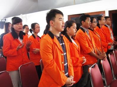 Atma Jaya misa perpustakaan 5