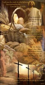 Roti kehidupan Yesus by Blue Eyes