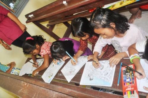 Bengkulu Lomba Mewarnai untuk Anak-anak di Kapel Stasi Santo Gabriel Air Muring