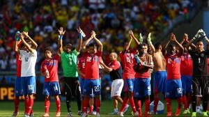Tim Kosta Rika usai mengalahkan Yunani/Foto: Fifa.com