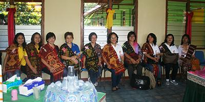 Tim KBKK di Pusat Pastoral dan Sosial Katikuloku, Sumba Tengah/ Foto : Pius