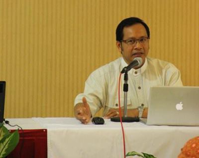 Vikjen Keuskupan Bandung, Pastor P. Wirasmohadi Soerjo, Pr/ Foto : Ignatius Yunanto