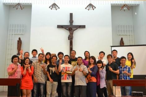 Kelompok Keluarga Katolik Indonesia (KITA) di Taiwan Selatan