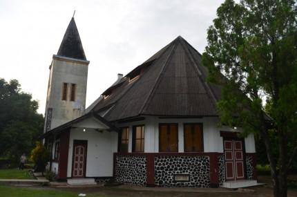 Gereja tua berarsitektur Belanda
