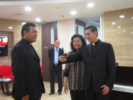 Kunjungan pejabat Vatikan ke Unika Atma Jaya Jakarta