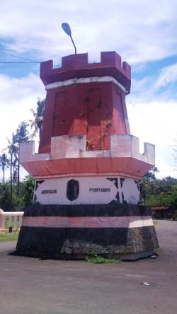 Jepara Benteng Portugis objek wisata tugu ok