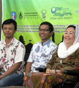 Shinta Nuriyah Abdurrahman Wahid (kanan) / Foto : Ignatius Yunanto