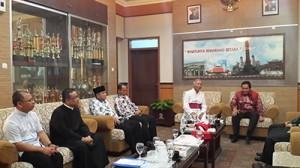 Silaturahmi ke Wali Kota Semarang/ dokpri