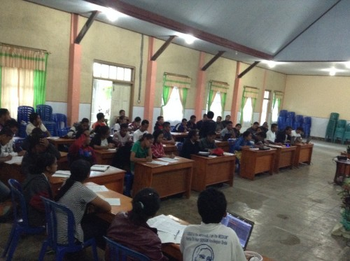 Ende pelatihan jurnalistik peserta 3
