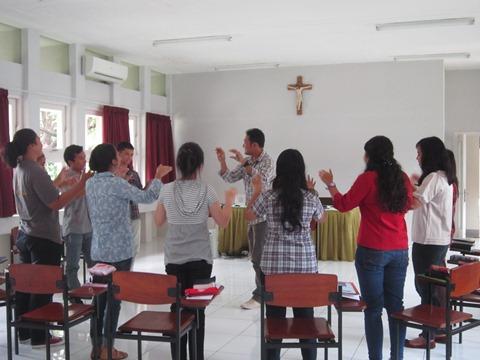 Retret Pemapan - sharing alumni