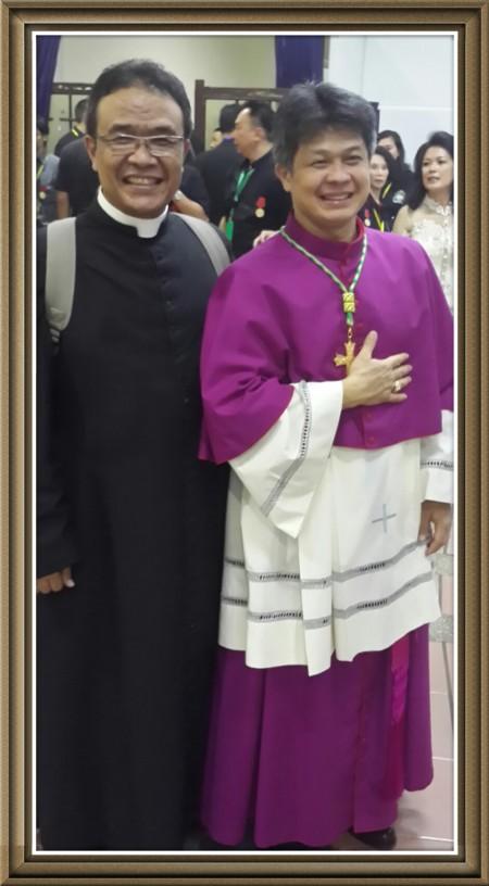 Uskup Bandung dan Romo Budi Purnomo