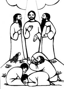 Yesus dimuliakan transfigurasi by Jesus Caritas