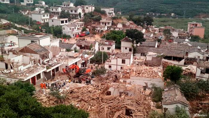 gempa di Kunming by Deutsche Welle