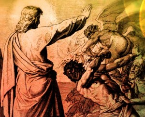 yesus mengusir kuasa jahat