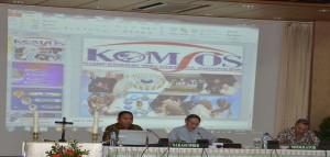Komisi Komsos KWI laporan
