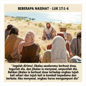 Sesawi Luk 17, 1-6